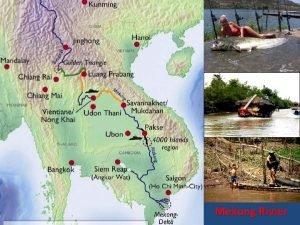 Mekong rivier door Jan en Elena Mekong Rivier