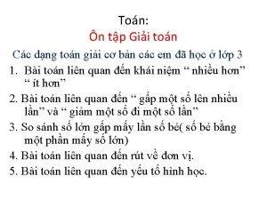 Ton n tp Gii ton Cc dng ton