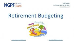 Investing 7 6 Investing for Retirement Project 90