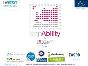 An Project Map Ability International Exchange Ability Coordinators