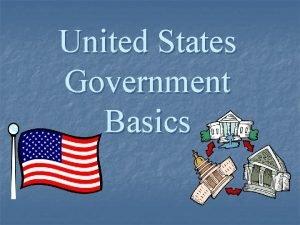 United States Government Basics Legislative Branch Bicameral Legislature