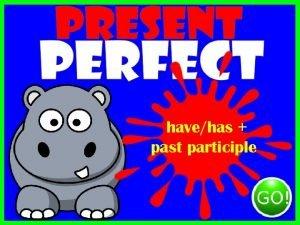 havehas past participle hashave past participle hasnthavent past