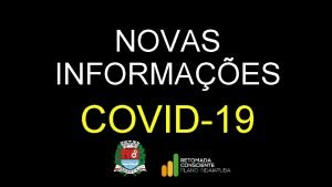 NOVAS INFORMAES COVID19 NOVAS INFORMAES COVID19 21 798