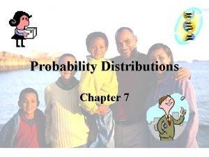 Probability Distributions Chapter 7 Random Variables A Random
