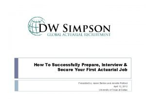 How To Successfully Prepare Interview Secure Your First