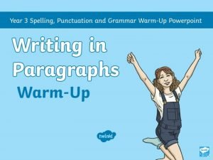 What is a Paragraph A paragraph is a