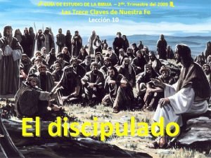 GUA DE ESTUDIO DE LA BIBLIA 2 do