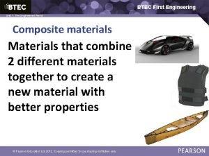 BTEC First Engineering 1 The Engineered World Unit