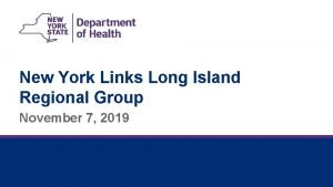 New York Links Long Island Regional Group November