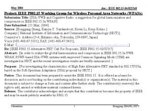 May 2004 doc IEEE 802 15 040253 r