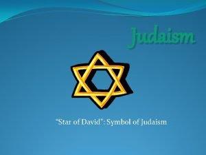 Judaism Star of David Symbol of Judaism The