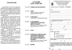 PRESENTAZIONE Ore 08 30 Registrazione dei partecipanti Ore
