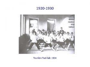 1920 1930 Tevhdi Tedrst 1924 1920 1930 Serbest