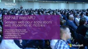 Lausanne ASP NET Web API 2 Services web