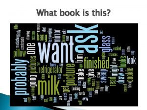What book is this Do a Wordle Walk