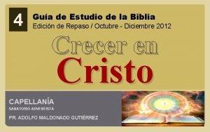 4 Gua de Estudio de la Biblia Edicin