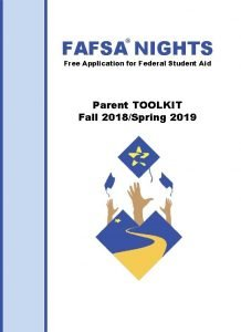 FAFSA NIGHTS Free Application for Federal Student Aid