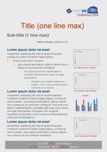 Title one line max Subtitle 1 line max