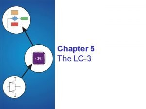 Chapter 5 The LC3 Instruction Set Architecture ISA