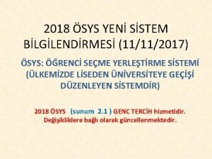 2018 SYS YEN SSTEM BLGLENDRMES 11112017 SYS RENC