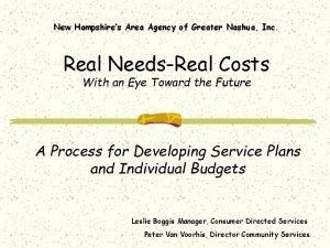 New Hampshires Area Agency of Greater Nashua Inc