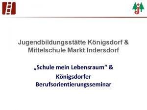 Jugendbildungssttte Knigsdorf Mittelschule Markt Indersdorf Schule mein Lebensraum