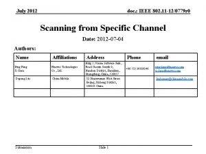 July 2012 doc IEEE 802 11 120779 r