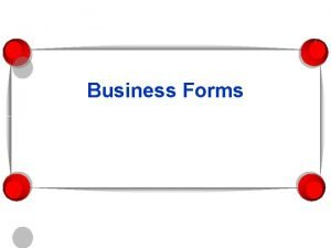 Business Forms Business Forms Industry Group of one