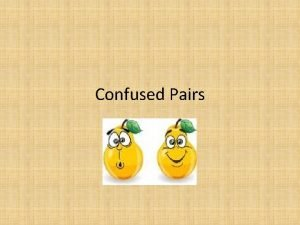 Confused Pairs Accept or Except Accept to take