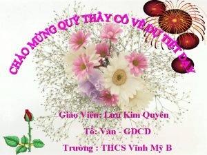 Gio Vin Lu Kim Quyn T Vn GDCD