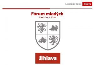 Frum mladch DIOD 20 3 2018 Statutrn msto