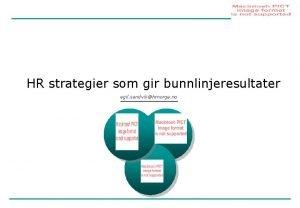 HR strategier som gir bunnlinjeresultater egil sandvikhrnorge no