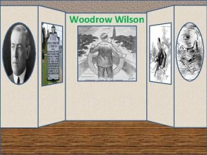Woodrow Wilson W 28 Woodrow Wilson Woodrow Wilson