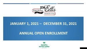 JANUARY 1 2021 DECEMBER 31 2021 ANNUAL OPEN