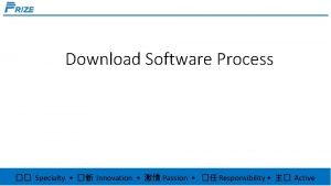Download Software Process Specialty Innovation Passion Responsibility Active