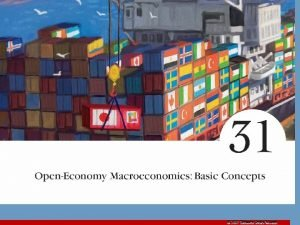 2007 Thomson SouthWestern OpenEconomy Macroeconomics Basic Concepts Open