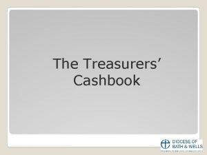 The Treasurers Cashbook Treasurers Questionnaire Responses No Treasurers