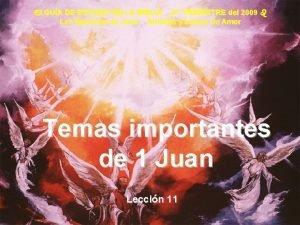 GUA DE ESTUDIO DE LA BIBLIA 3 er