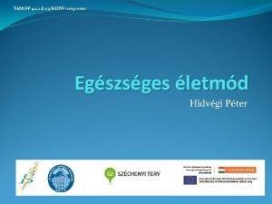 TMOP 4 1 2 E13KONV2013 0010 Egszsges letmd