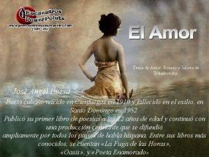 Tema de Amor Romeo y Julieta de Tchaikovsky
