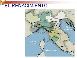 EL RENACIMIENTO La arquitectura del Renacimiento n Quattrocento
