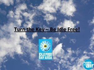 Turn the Key Be Idle Free Turn the