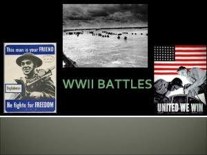 WWII BATTLES Stalingrad Hitler wanted to control Stalingrad