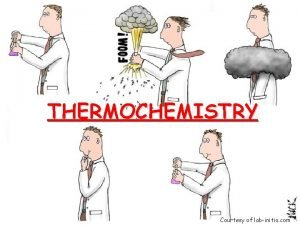 THERMOCHEMISTRY Courtesy of labinitio com Definitions 1 Energy