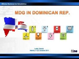 MDG IN DOMINICAN REP Leidy Zabala Manila 17
