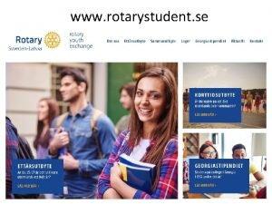www rotarystudent se Vnner fr livet Kulturella upplevelser