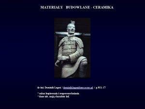 MATERIAY BUDOWLANE CERAMIKA dr in Dominik Logo dominik