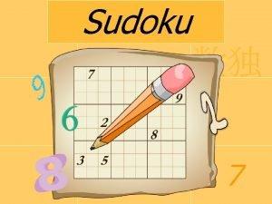 Sudoku Co to jest Sudoku Sudoku jap sdoku