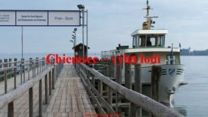 Chiemsee vlet lod Hudba ERNESTO CORTAZAR BERTHA Chiemsk