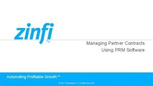 Managing Partner Contracts Using PRM Software Automating Profitable